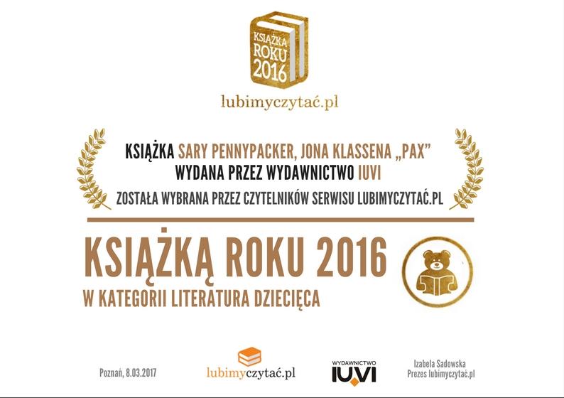 Dyplom - Pax - LubimyCzytac.pl